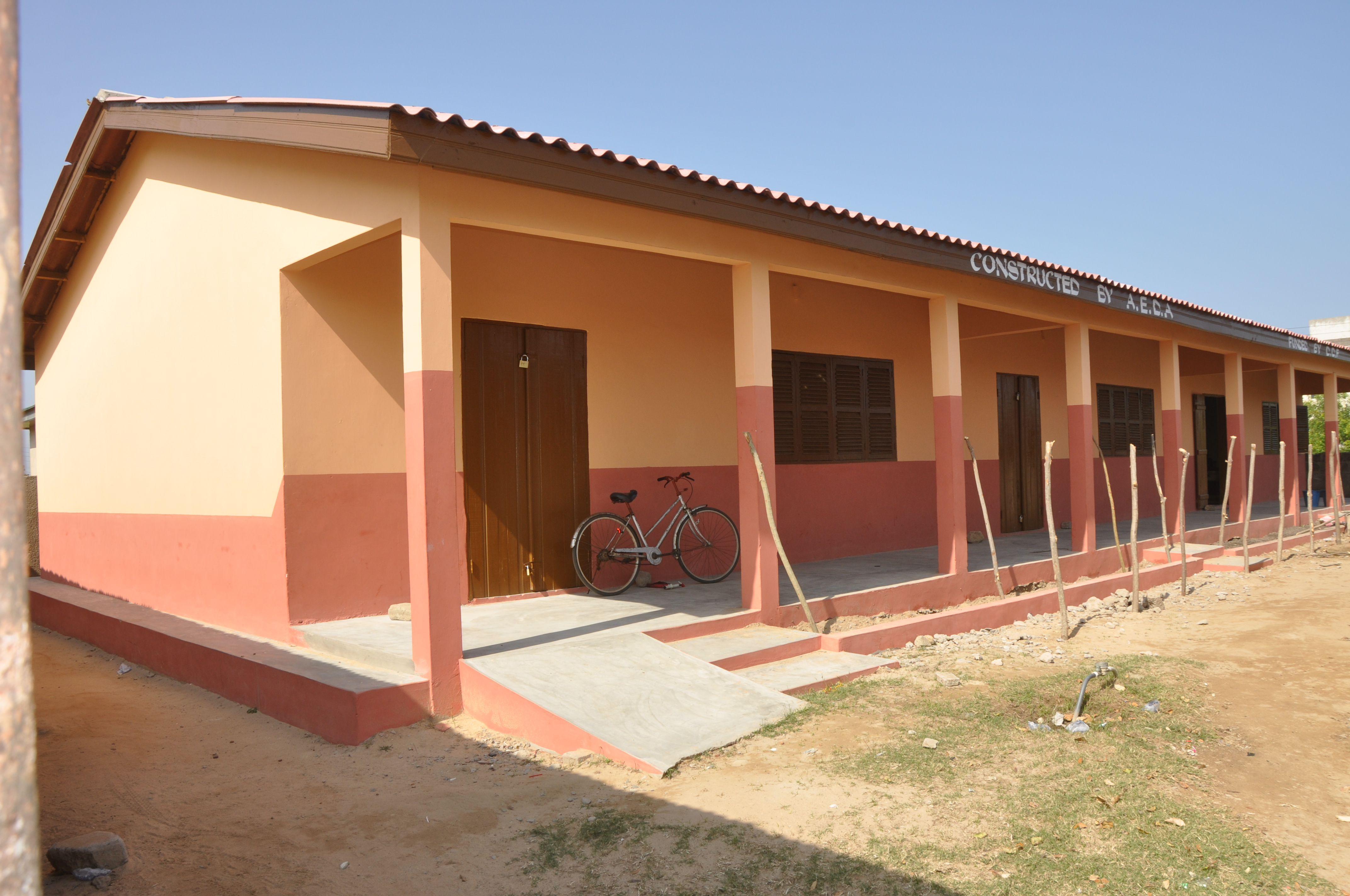 THREE UNIT CLASSROOM BLOCK