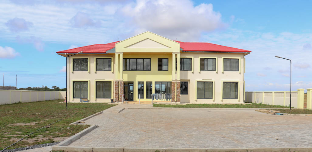 Newly constructed Business Resource Center